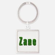 Zane Grass Square Keychain