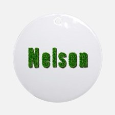 Nelson Grass Round Ornament