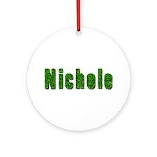 Nichole Grass Round Ornament