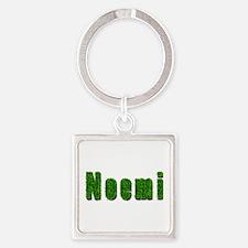 Noemi Grass Square Keychain