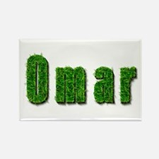 Omar Grass Rectangle Magnet