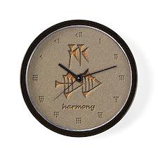 harmony/sand Wall Clock