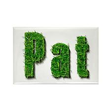 Pat Grass Rectangle Magnet