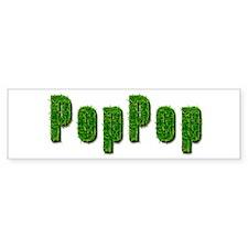 PopPop Grass Bumper Bumper Sticker