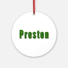 Preston Grass Round Ornament