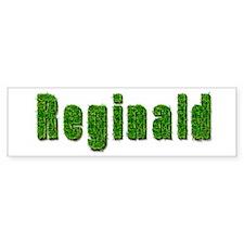 Reginald Grass Bumper Bumper Sticker