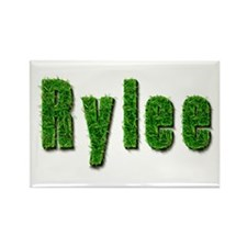 Rylee Grass Rectangle Magnet