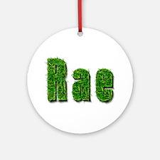 Rae Grass Round Ornament
