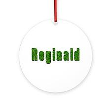 Reginald Grass Round Ornament