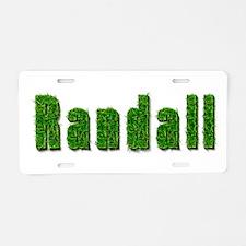 Randall Grass Aluminum License Plate