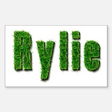 Rylie Grass Rectangle Decal