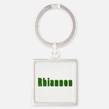 Rhiannon Grass Square Keychain