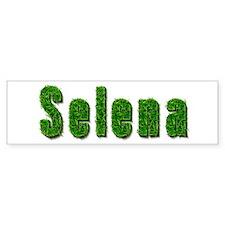 Selena Grass Bumper Bumper Sticker