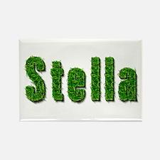 Stella Grass Rectangle Magnet