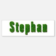Stephan Grass Bumper Bumper Bumper Sticker