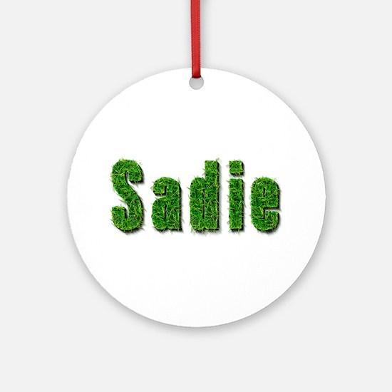 Sadie Grass Round Ornament