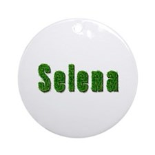 Selena Grass Round Ornament
