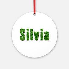 Silvia Grass Round Ornament