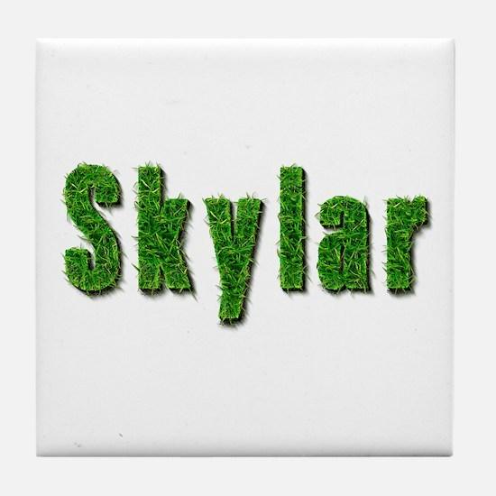 Skylar Grass Tile Coaster