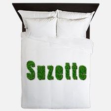 Suzette Grass Queen Duvet