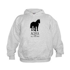 Funny American quarter horse Hoodie
