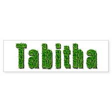 Tabitha Grass Bumper Bumper Sticker