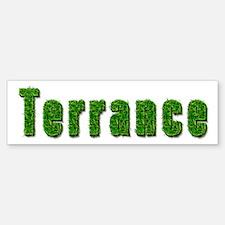 Terrance Grass Bumper Bumper Bumper Sticker