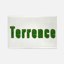 Terrence Grass Rectangle Magnet