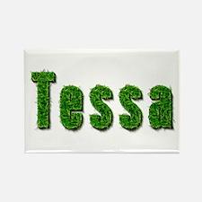 Tessa Grass Rectangle Magnet