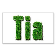 Tia Grass Rectangle Decal
