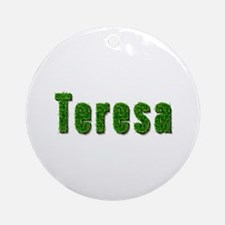 Teresa Grass Round Ornament