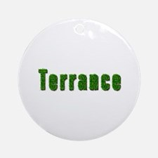 Terrance Grass Round Ornament