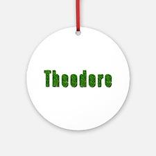 Theodore Grass Round Ornament