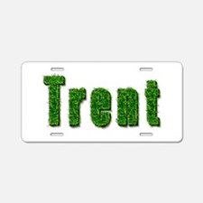 Trent Grass Aluminum License Plate