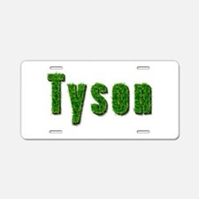 Tyson Grass Aluminum License Plate