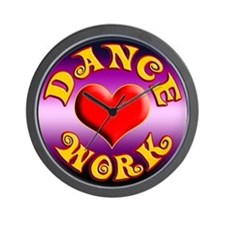 Dance Love Work Wall Clock