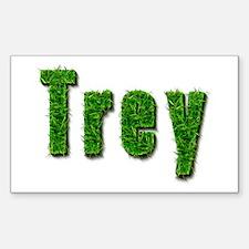 Trey Grass Rectangle Decal