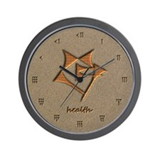 health/sand Wall Clock