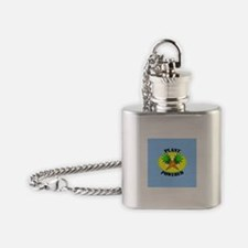 Plant Powered Flask Necklace