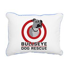 BullsEye Rectangular Canvas Pillow