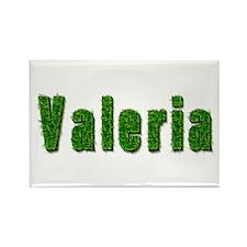 Valeria Grass Rectangle Magnet
