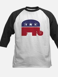 Republican Elephant (NP) Kids Baseball Jersey