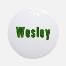 Wesley Grass Round Ornament
