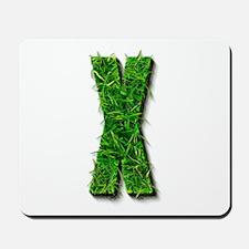 X Grass Mousepad