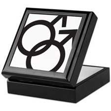 Gay Symbol - Male Keepsake Box