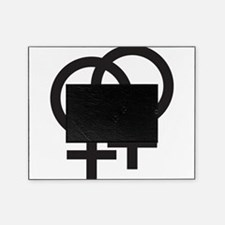 Gay Symbol - Female Picture Frame
