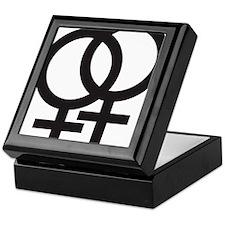 Gay Symbol - Female Keepsake Box