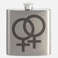 Gay Symbol - Female Flask