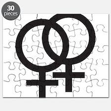 Gay Symbol - Female Puzzle