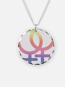 Gay Symbol - Female Necklace